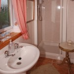 ensuite shower-room for B&B Double Room 2
